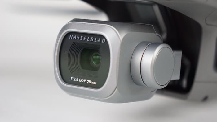 la caméra hasselblad du mavic 2 pro